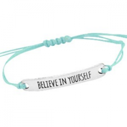 Believe In Yourself Turquoise