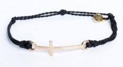 Gold Cross Black