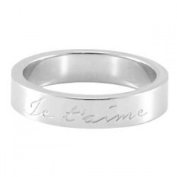 Je t'aime Silver - Size 6 : 81