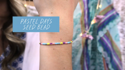 Seed Bead Pastel Days