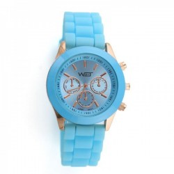Watch By Time Blue